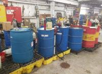Due diligence limited environmental compliance audit barrels