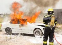 emerging contaminants fire fighter car fire