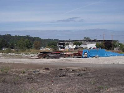 exterior image of a construction area