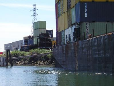 Cargo container shipping company project image