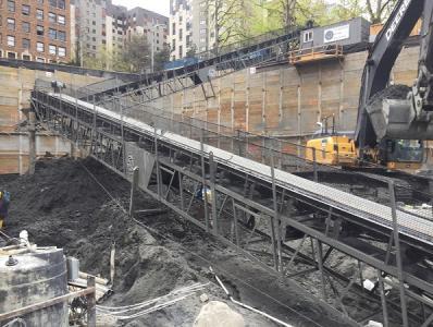 Excavation Observation with NFA Determination