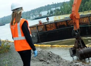 Sediment Cleanup in the Lower Duwamish Waterway