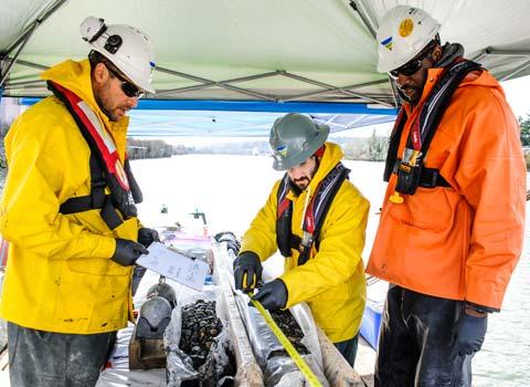 environmental sediment dredging
