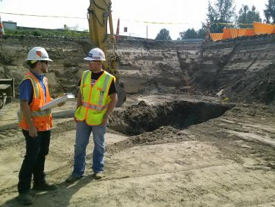 Stormwater Treatment Facility and Infiltration System